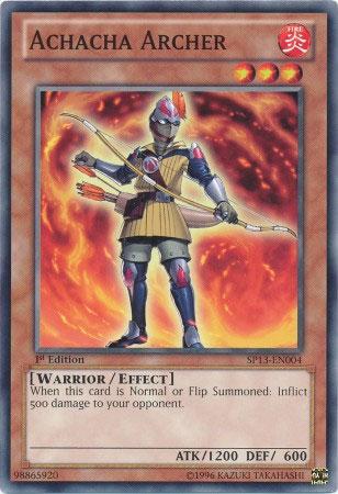 Achacha Archer - SP13-EN004 - Common - Unlimited Edition