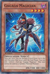Gagaga Magician - SP13-EN002 - Common - Unlimited Edition on Channel Fireball
