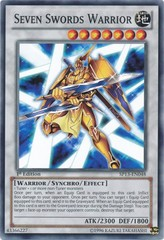 Seven Swords Warrior - SP13-EN048 - Common - Unlimited Edition