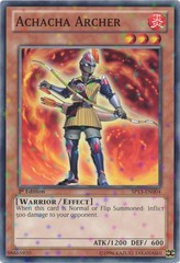 Achacha Archer - SP13-EN004 - Starfoil Rare - Unlimited Edition on Channel Fireball