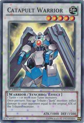 Catapult Warrior - SP13-EN049 - Starfoil Rare - Unlimited Edition