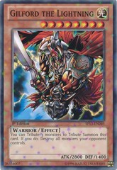 Gilford the Lightning - SP13-EN040 - Starfoil Rare - Unlimited Edition