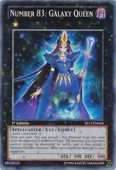 Number 83: Galaxy Queen - SP13-EN028 - Starfoil Rare - Unlimited Edition