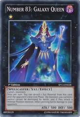 Number 83: Galaxy Queen - SP13-EN028 - Common - 1st Edition