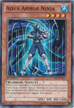 Aqua Armor Ninja - SP13-EN017 - Starfoil Rare - 1st Edition