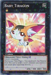 Baby Tiragon - SP13-EN027 - Starfoil Rare - 1st Edition on Channel Fireball