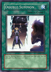 Double Summon - TAEV-EN056 - Rare - 1st Edition