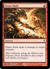 Flame Slash on Channel Fireball
