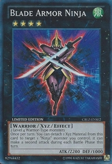 Blade Armor Ninja - CBLZ-ENSE2 - Super Rare - Limited Edition on Channel Fireball