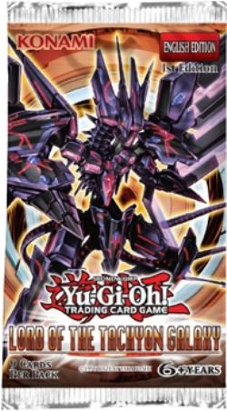 Lord of the Tachyon Galaxy 1st Edition Booster Pack