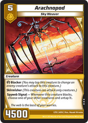 Arachnopod on Channel Fireball