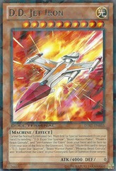 D.D. Jet Iron - DT07-EN055 - Rare Parallel Rare - Duel Terminal on Channel Fireball