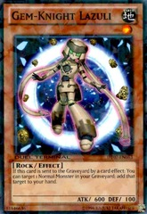 Gem-Knight Lazuli - DT07-EN063 - Parallel Rare - Duel Terminal on Channel Fireball