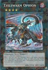 Evilswarm Ophion - DT07-EN091 - Super Parallel Rare - Duel Terminal on Channel Fireball