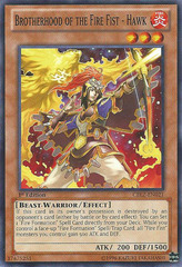 Brotherhood of the Fire Fist - Hawk - CBLZ-EN021 - Common - Unlimited Edition
