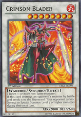 Crimson Blader - CBLZ-EN093 - Rare - Unlimited Edition