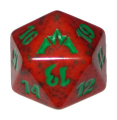 Magic Spindown Die - Gatecrash Gruul