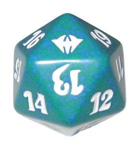 Magic Spindown Die - Dark Ascension Green