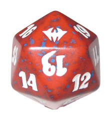 Magic Spindown Die - Dark Ascension Red