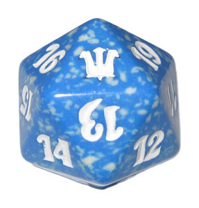 Magic Spindown Die - Innistrad - Blue