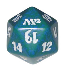 Magic Spindown Die - Magic 2012 Green
