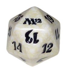 Magic Spindown Die - M12 Magic 2012 White