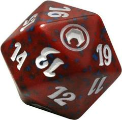 Magic Spindown Die - Scars of Mirrodin Red