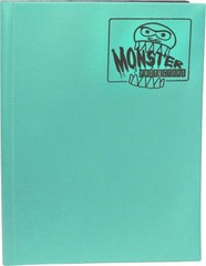 Monster Protectors 9 Pocket Matte Teal Binder