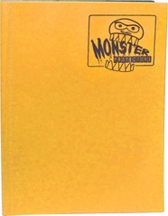 Monster Protectors 9-Pocket Binder - Matte Sunflower Orange