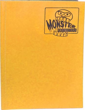 Monster Protectors 9 Pocket Matte Sunflower Orange Binder