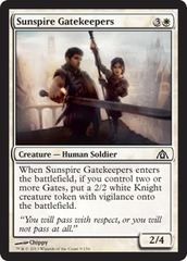 Sunspire Gatekeepers - Foil