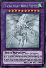 Dragon Knight Draco-Equiste - DREV-EN038 - Ghost Rare - Unlimited Edition