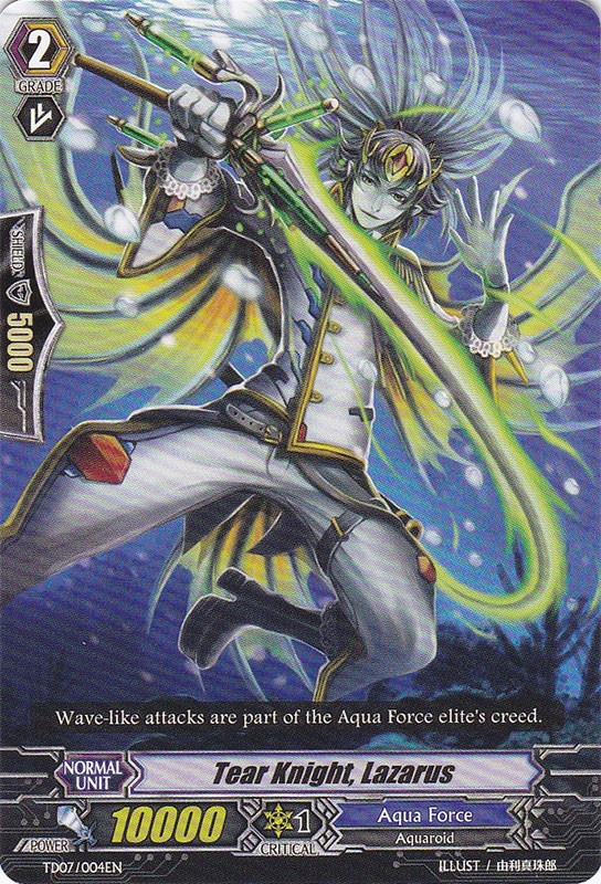 Tear Knight, Lazarus - TD07/004EN - TD