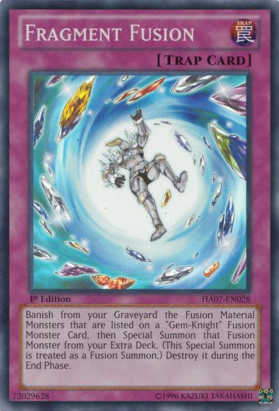 Fragment Fusion - HA07-EN028 - Super Rare - 1st Edition