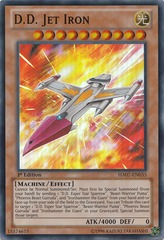 D.D. Jet Iron - HA07-EN035 - Super Rare - 1st Edition