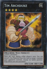 Tin Archduke - HA07-EN060 - Secret Rare - 1st Edition