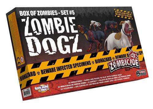 Zombicide Box of Zombies Set #5: Zombie Dogz
