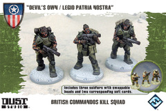 Dust Tactics: British Commandos Kill Squad -