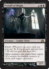 Pontiff of Blight - Foil