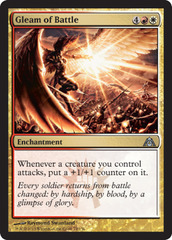 Gleam of Battle - Foil