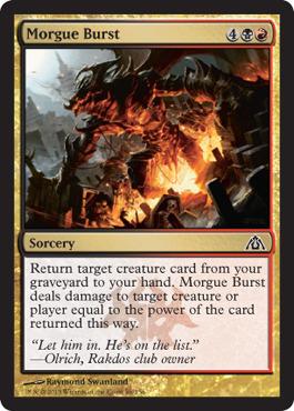 Morgue Burst - Foil