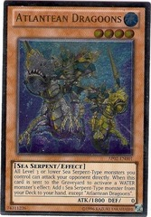 Atlantean Dragoons - AP02-EN001 - Ultimate Rare - Unlimited on Channel Fireball