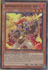 Brotherhood of the Fire Fist - Hawk - AP02-EN008 - Super Rare - Unlimited on Channel Fireball