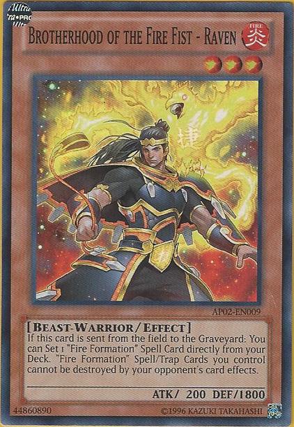 Brotherhood of the Fire Fist - Raven - AP02-EN009 - Super Rare - Unlimited