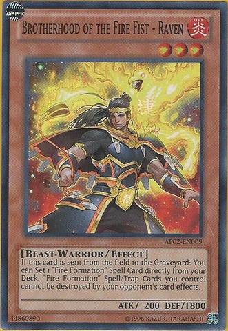 Brotherhood of the Fire Fist - Raven - AP02-EN009 - Super Rare - Unlimited