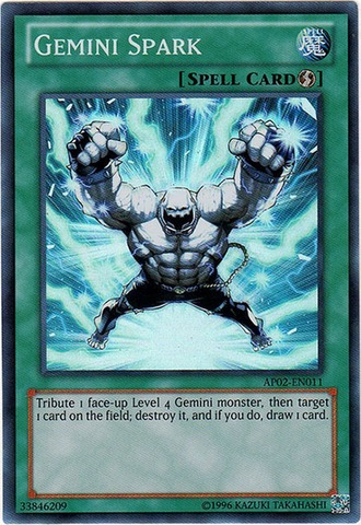 Gemini Spark - AP02-EN011 - Super Rare - Unlimited