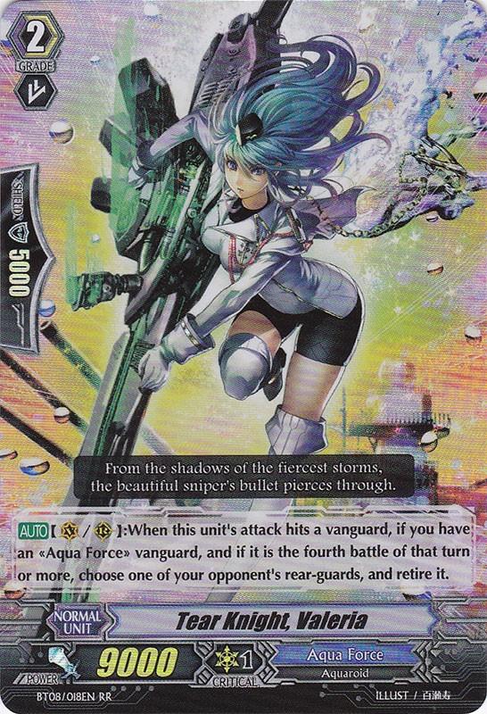 Tear Knight, Valeria - BT08/018EN - RR