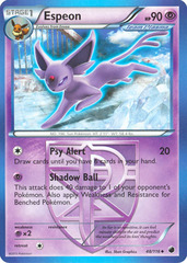 Espeon - 48/116 - Uncommon on Channel Fireball