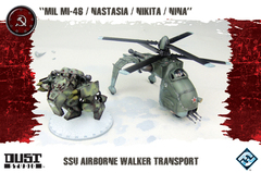 SSU Airborne Walker Transport - MIL MI-46 / Nastasia / Nikita / Nina (Dust Tactics)