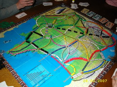 Les Aventuriers du Rail: Extension France (fan expansion for Ticket to Ride)